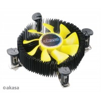 Akasa AK-CCE-7107BP 1U Socket LGA775 115X Low-profile