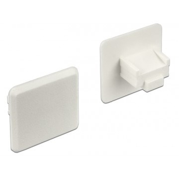 Delock Dust Cover for RJ45 jack without grip white